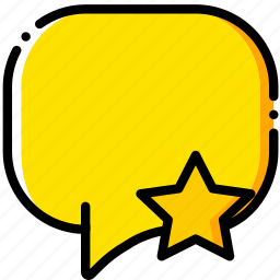 communication, conversation, favorite, interaction, interface icon