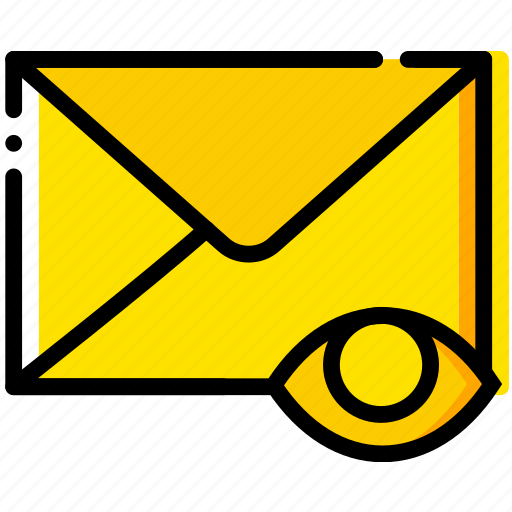 communication, hide, interaction, interface, mail icon