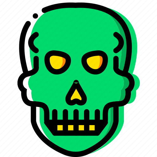 health, healthcare, medical, skull icon
