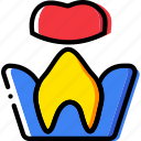 health, healthcare, medical, molar, root, treatment icon
