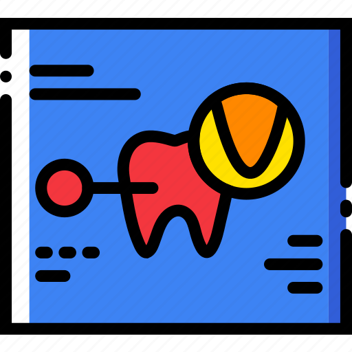 dental, health, healthcare, medical, records icon