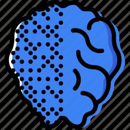 activity, brain, health, healthcare, left, medical icon