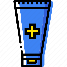 health, healthcare, medical, ointment icon