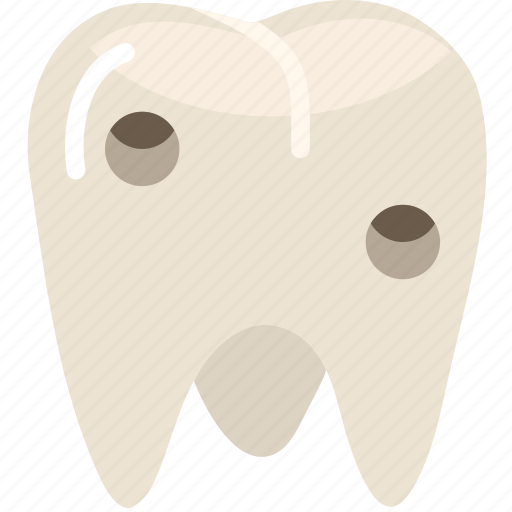 health, healthcare, medical, molar, rotten icon