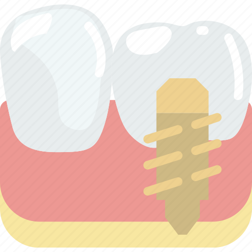 health, healthcare, implant, medical, molar icon