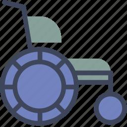 health, healthcare, medical, wheelchair icon