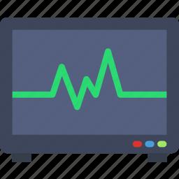 health, healthcare, heartbeat, medical, monitor icon