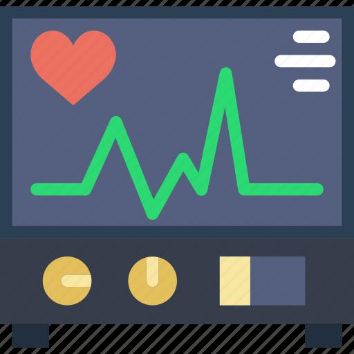 Electrocardiogram, health, healthcare, medical icon - Download on Iconfinder