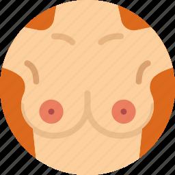 breast, health, healthcare, medical icon