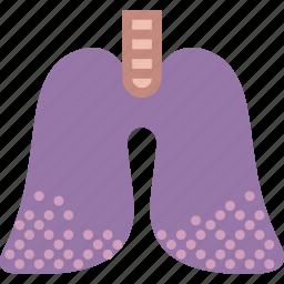 disease, health, healthcare, medical, pulmonary icon