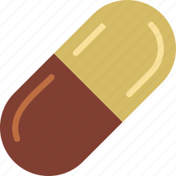 capsuled, health, healthcare, medical, pill icon