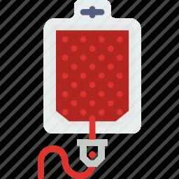 blood, health, healthcare, medical, transfusion icon