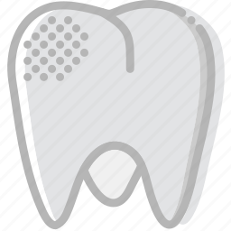 health, healthcare, medical, mildly, molar, rotten icon