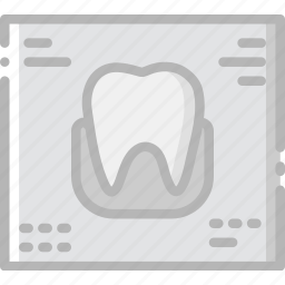 dental, health, healthcare, medical, ray, x icon