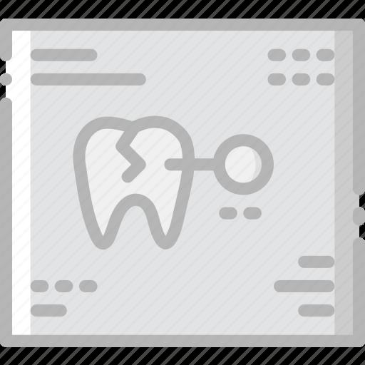 dental, health, healthcare, medical, records icon