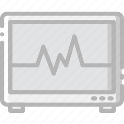 health, healthcare, heartbeat, medical, monitor icon