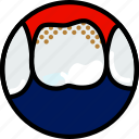 health, healthcare, medical, molar, tatrum icon
