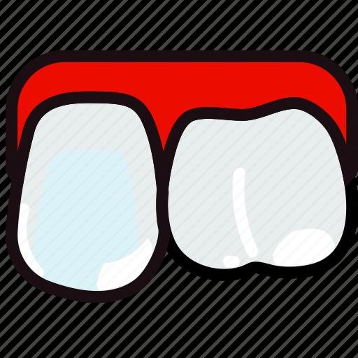 health, healthcare, medical, premolar, upper icon
