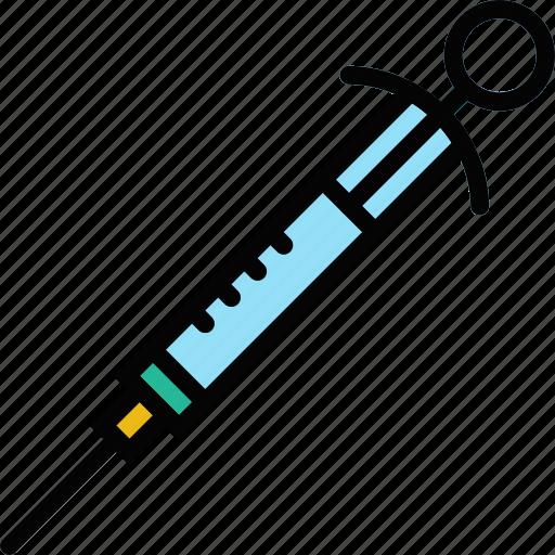 dental, health, healthcare, medical, syringe icon