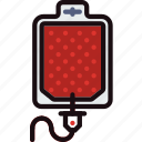 blood, health, healthcare, medical, transfusion icon
