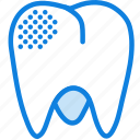 health, healthcare, medical, mildy, molar, rotten icon