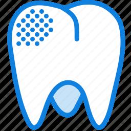 health, healthcare, medical, mildy, molar, rotten icon
