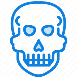 health, healthcare, medical, skull icon