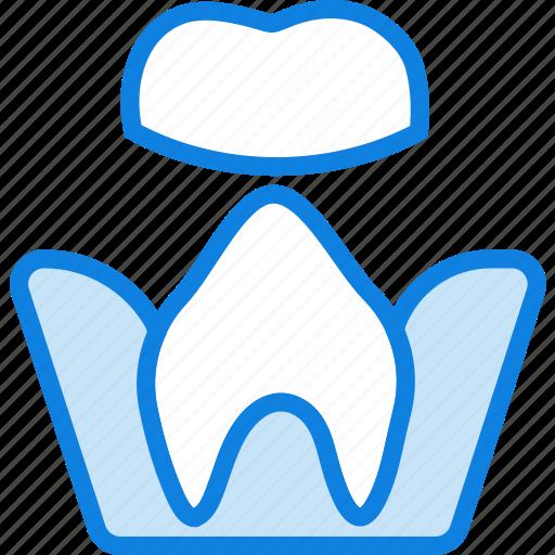 health, healthcare, medical, molar, root, treatment icon