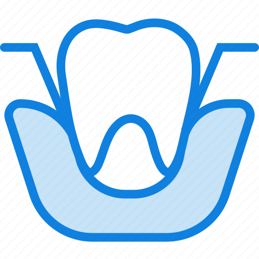 extraction, health, healthcare, medical, molar icon