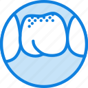 health, healthcare, medical, molar, tartrum icon