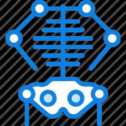 health, healthcare, medical, skeleton icon