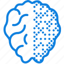 activity, brain, health, healthcare, medical, right icon