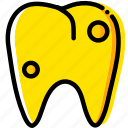 health, healthcare, medical, premolar, rotten icon
