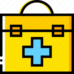 aid, first, health, healthcare, kit, medical icon