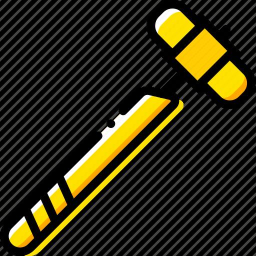 bone, hammer, health, healthcare, medical icon