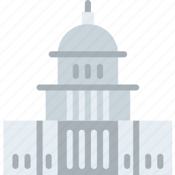 big, building, capitol, monument, states, tall, united icon