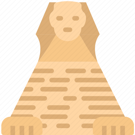 big, building, giza, great, monument, sphinx, tall icon