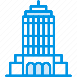 big, building, empire, monument, state, tall, webby icon