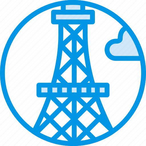 big, building, eiffel, monument, tall, tower, webby icon