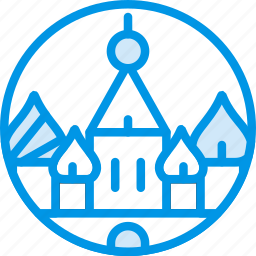 big, building, kremlin, monument, tall, webby icon