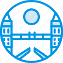 big, bridge, building, london, monument, tall, webby icon