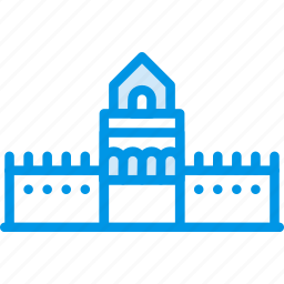 big, building, china, great, monument, wall, webby icon