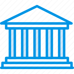 big, building, monument, parthenon, tall, webby icon
