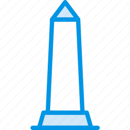 big, building, monument, obelisk, tall, webby icon
