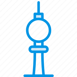 berlin, big, building, monument, tall, tower, webby icon
