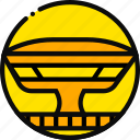 big, building, mac, monument, yellow icon