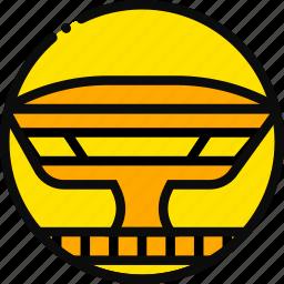 big, building, mac, monument, yellow icon