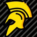 movie, hundred, spartans, three, yellow icon