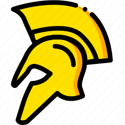 hundred, movie, spartans, three, yellow icon