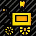 django, doctor, movie, unchained, yellow icon